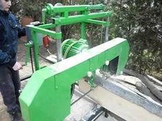 Homemade Bandsaw Mill, Bedroom Ideas, Tools, Youtube, Home, Branch Mobile, Wood, Band Saw, Instruments