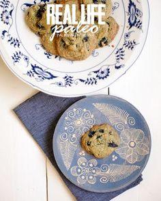 (Paleo) Blueberry Breakfast Cookies