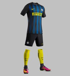 The new Nike Inter Milan 16-17 home kit is an absolute stunner with an eye-catching and unprecedented standout feature.