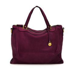 Rabeanco: Handtasche Sleeky Violett Rot, mit 20% Preisvorteil!