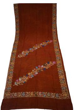 Indian Vintage Crepe Saree with Thread work  Wrap Women Ethnic Clothing Traditional Fabric Sari Soie 5yard Length Silk Beige Sari -ASS536