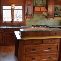 Elegant Blog. Craftsman Style KitchensCraftsman ...