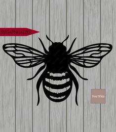 Bee Stencil Svg Honeycomb Svg Honey Dipper Cut File Cricut | Etsy