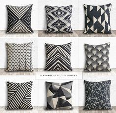 Holtwood Hipster: Patio Plans // A Geo Pillow Menagerie
