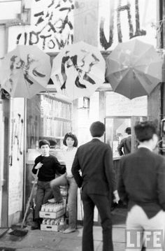 Modernist Japan. TEENAGE WASTELAND: JAPANESE YOUTH IN REVOLT, 1964 Michael Rougier—Time & Life Pictures Caption from original story in Sept. 11, 1964, issue of LIFE: