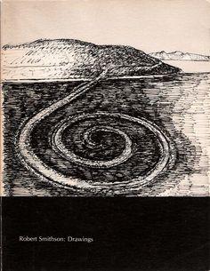 ROBERT SMITHSON - Spiral Jetty drawing