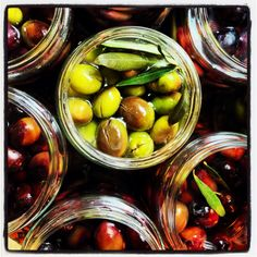 Preparing olives from the garden :) 3rd day....long way to go :)