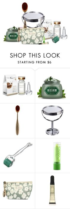 """""""Untitled #1401"""" by dear-inge ❤ liked on Polyvore featuring beauty, Beauty, GREEN, skincare, Dayoff and treatment"""