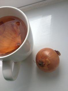 Chá de cebola para as insonias.