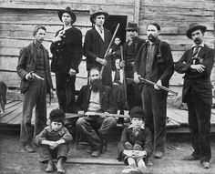 The Hatfield Family of the famous Hatfield-McCoy Feud