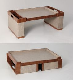Our Seaton folding bed tray is ideal for breakfast in bed with the newspapers, dinner in front of the TV or a steady base to use a laptop. It is made from light tan faux linen and walnut wood. The bedtray can be wiped clean with a damp cloth. Bed Tray, Folding Beds, Desk Pad, Breakfast In Bed, Bedroom Accessories, Home Reno, Walnut Wood, Wood Projects, Cleaning Wipes