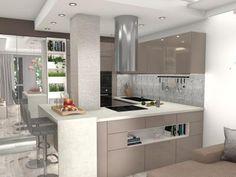 Ötletes sarokkonyha kis lakásba - konyha / étkező ötlet, modern stílusban