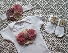 Hey, I found this really awesome Etsy listing at https://www.etsy.com/listing/191497891/baby-girl-newborn-take-home-outfit