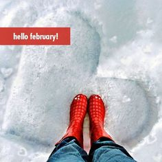 Hello February! #month #season #winter