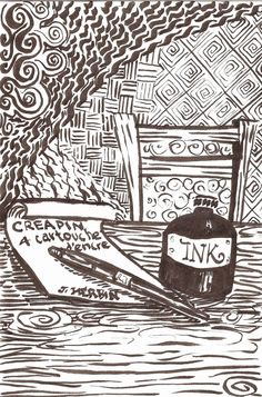 Life Imitates Doodles: Giveaway and Review of the J. Herbin CreaPen #CreaPen #Exaclair #JHerbin