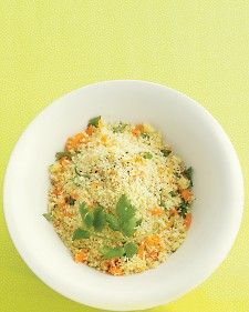 Couscous with Carrot and Cilantro - Martha Stewart Recipes