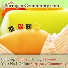 Baby - Surrogatecommunity.com - surrogacy option for creating a family - surrogate mother & intended parents