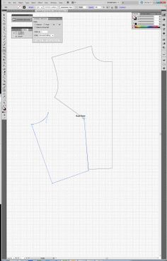 Patternmaking for Fashion Design using adobe