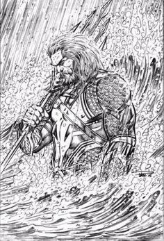 Jason Momoa's Aquaman by Paul Pelletier