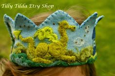 My Sweet Homeschool: Giveaway: Meet Waldorf Crown Maker Tilly Tilda