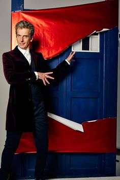 """Peter on how he'd like to see his TARDIS change - this and having the roundels back: """"It's got a sort of Edwardian look about it – not the actual console – it's the bits and pieces lying around. Cricket bats, maps and odds and ends and things. There's a Jules Verne quality to it – I would like to make it more Bauhaus"""""""