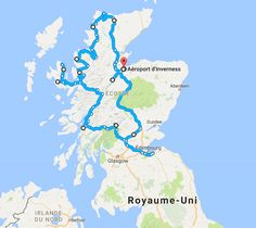 Inverness, Dundee, Aberdeen, Belfast, Glasgow, Outlander, Graph, Camping Car, Travel Information