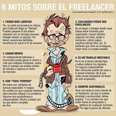 6 mitos sobre el #freelancer.