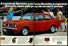 anúncio chevette - 1978