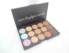 Tem resenha da paleta de corretivos lá no blog, em ver. ;)  http://blogdajeu.com.br/resenha-paleta-de-corretivos-15-cores-romwe/  #romwe #corretivos #paletadecorretivos #corretivo #corretivocolorido #makeup #maquiagem