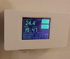In this tutorial we will show how to build WiFi controlled thermostat with ESP8266, Arduino and touch screen display. Thermostat will also show other info, like weather forecast and temperature outside. Total cost for thermostat is about 40EUR, which is price for basic commercial thermostat in shop. Basic features: 6 modes - Auto, Off, LOLO, LO, HI, HIHI Touch screen WiFi connected Four set temperatures (LOLO, LO, HI, HIHI) and weekly schedule Time display Additional data display…