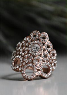 The new rose gold Liz ring from Swedish designers Edblad is the perfect  accessory for the 5a6f0fc9012fd
