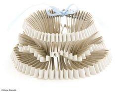 Kaleidoscopic paper jewelry