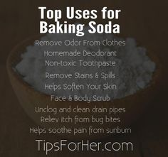 Top Uses for Baking Soda