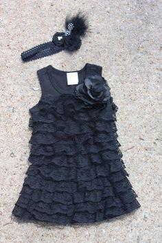 Christy: Ruffled Lace Dress