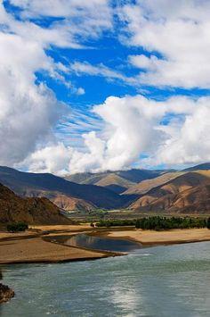 Brahmaputra River – China Tour Advisors Brahmaputra River, Indian River, Himalayan, Cruise, Asia, Tours, Culture, Mountains, Travel