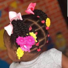 Cute Toddler Hairstyles, Cute Little Girl Hairstyles, Natural Hairstyles For Kids, Baby Girl Hairstyles, Kids Braided Hairstyles, Natural Hair Styles, Kid Braid Styles, Braids For Kids, Hair Products
