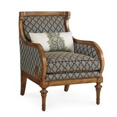 The Foundry Upholstery Morrell Wing Chair