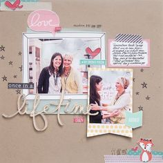 #papercraft #scrapbook #layout meeting+Heidi+Swapp+by+mpcapistran+at+@Studio_Calico