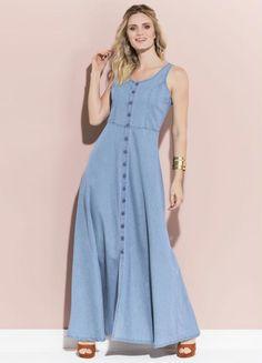 Plus Size Minimalist Capsule Wardrobe Pin Up Dresses, Short Dresses, Fashion Dresses, Summer Dresses, Demin Dress, Short Girl Fashion, Jeans Claro, Casual Formal Dresses, Denim Fashion