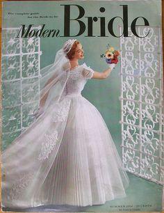 Modern Bride, 1954 Summer