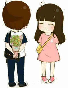 Anime Lock Screen, Love Cartoon Couple, Cute Couple Wallpaper, Cute Love Cartoons, Cute Cartoon Wallpapers, Stop Motion, Cute Couples, Tumbler, Character Design