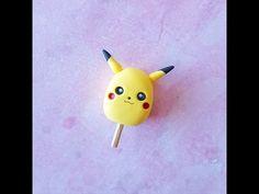 Pokémon Pikachu Popsicle polymer clay tutorial