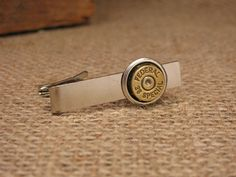 If your hunting or shooting guy works a 9-5 during the week, he can still be styling with our big selection of tie tacks, tie bars and cuff links using bullet and shotgun casings.  Put some firepower in his stocking this season!