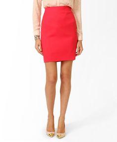 Essential Knee Length Skirt   LOVE21 - 2019572411 $17.80