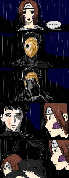 Obito and Rin (spoilers chapter 599) by sinemoras on DeviantArt
