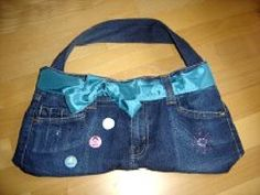 Tasche aus Jeans nähen