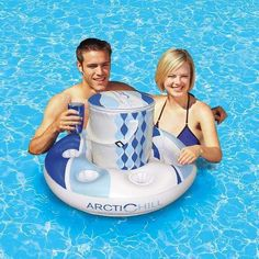 Swimming Gear, Floating In Water, Water Toys, Flat Abs, Water Sports, Chill, Unisex, Summer Pool, Beverages