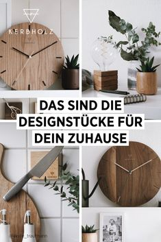 Find out the latest watch trends at KERBHOLZ ✔️ Award-winning designs ✔️ Fast delivery ✔️ 24 months guarantee ✔️ Certified online shop Living Room Decor, Bedroom Decor, Design Moderne, Diy Crafts To Sell, Woodworking Crafts, Decoration, Diy Home Decor, Diy Projects, Interior Design