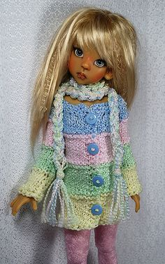 Cute Doll Clothes pastel1
