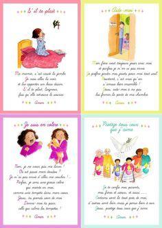 cartes pri res pour les enfants disponibles dans le journal gratuit pour l 39 veil la foi dit. Black Bedroom Furniture Sets. Home Design Ideas